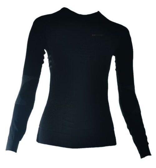X-BIONIC Men Underwear Ski Touring Shirt long slv black antra