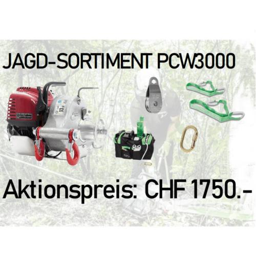 Portable Winch Jagd Spillwinden Set PCW3000